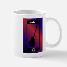 Mobile Phone With Guitar Mugs
