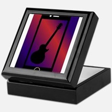 Mobile Phone With Guitar Keepsake Box