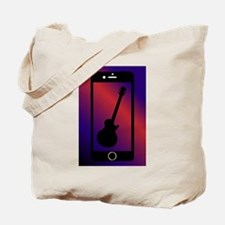 Mobile Phone With Guitar Tote Bag