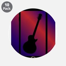 """Mobile Phone With Guitar 3.5"""" Button (10 pack)"""