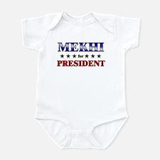 MEKHI for president Infant Bodysuit