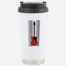 Guitar With Blues Scale Travel Mug
