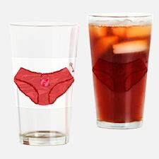 Padlock Knickers And Key Drinking Glass