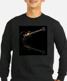 Black Beauty Electric Guitar Long Sleeve T-Shirt