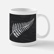Silk Flag Of New Zealand Silver Fern Mugs
