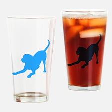 Lab 1C Lt. Blue Drinking Glass