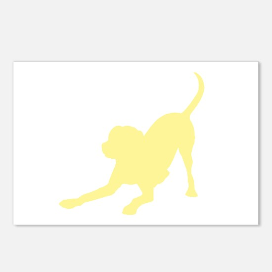 Lab 1C Yellow Postcards (Package of 8)