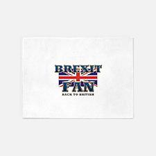 Brexit Fan 5'x7'Area Rug