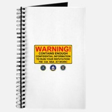 WARNING SIGN - GOVERNMENT SURVEILLANCE - F Journal