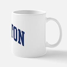 SINGLETON design (blue) Mug