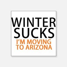 Winter Sucks - I'm moving to Arizona Sticker