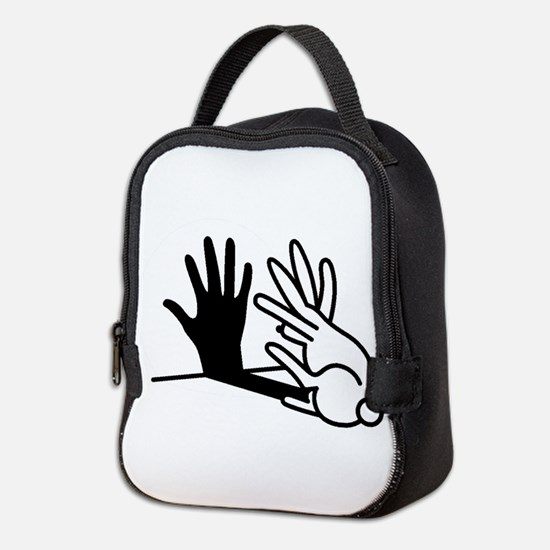 Cute Funny Neoprene Lunch Bag
