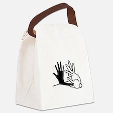 Unique Animals Canvas Lunch Bag