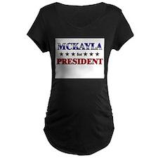 MCKAYLA for president T-Shirt