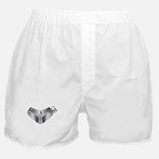 Medieval Chastity Belt Boxer Shorts