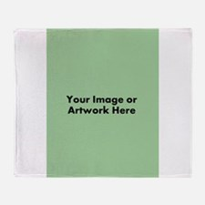 Your Image or Artwork Throw Blanket