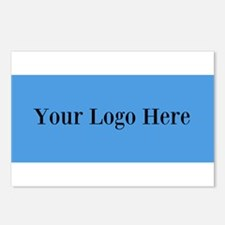 Your Logo Here (Wide) Postcards (Package of 8)
