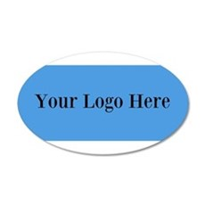 Your Logo Here (Wide) Wall Decal