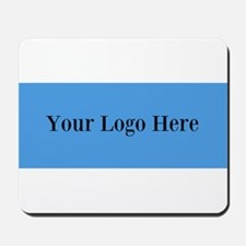 Your Logo Here (Wide) Mousepad