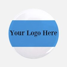 "Your Logo Here (Wide) 3.5"" Button (100 pack)"
