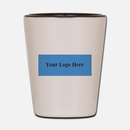 Your Logo Here (Wide) Shot Glass