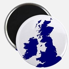 U.K. and Southern Ireland Silhouette Magnets