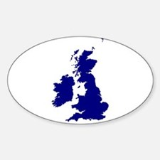 U.K. and Southern Ireland Silhouette Decal