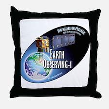 EO-1 Logo Throw Pillow