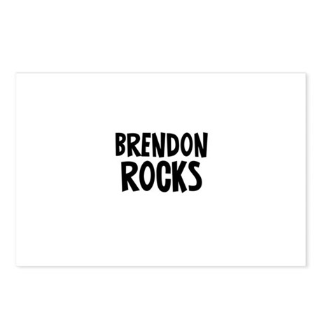 Brendon Rocks Postcards (Package of 8)
