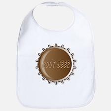 Metal Root Beer Bottle Cap Bib