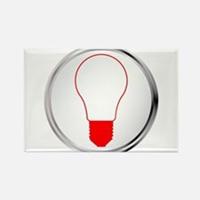 Light Bulb Button Magnets