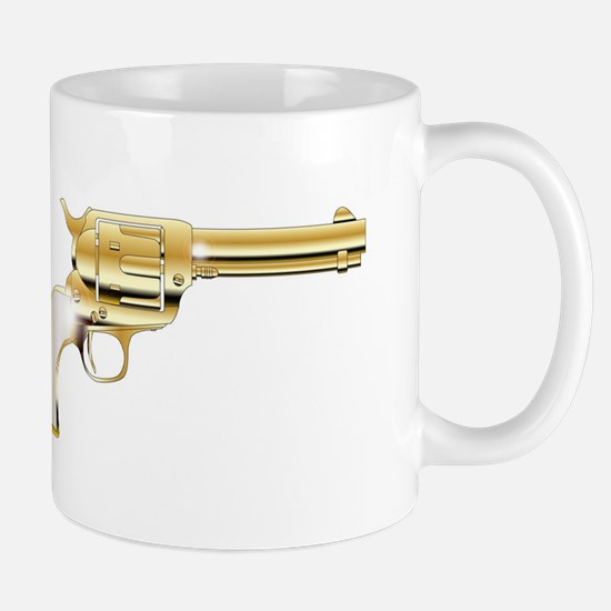 A Golden Revolver Mugs