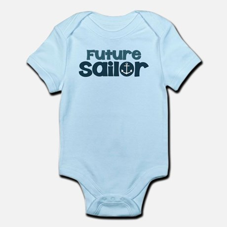 Navy Future Sailor Infant Bodysuit