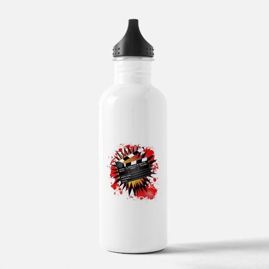 Christmas Clapperboard Water Bottle