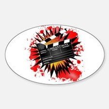 Christmas Clapperboard Decal