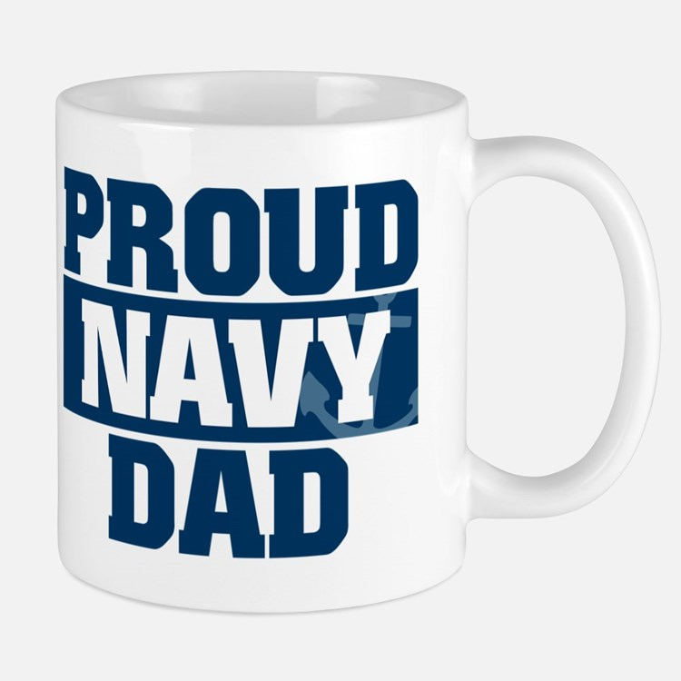 US Navy Proud Navy Dad Mug