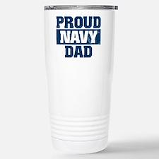 US Navy Proud Navy Dad Travel Mug