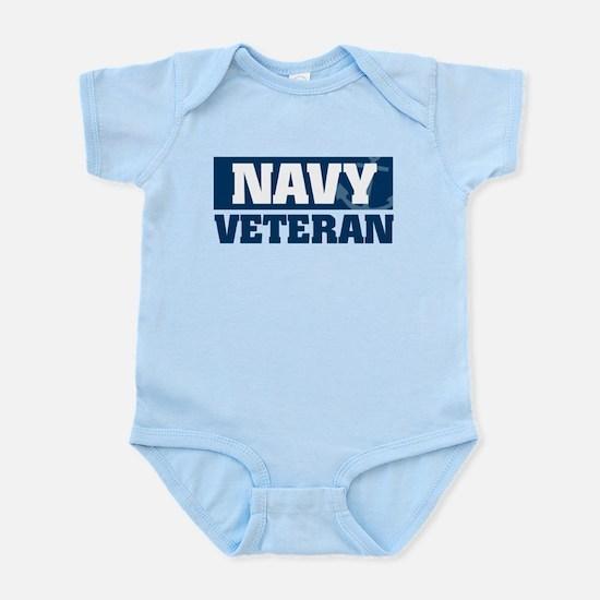 US Navy Veteran Infant Bodysuit