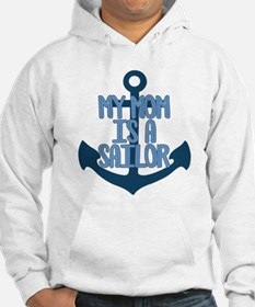 US Navy My Mom is a Sailor Jumper Hoody