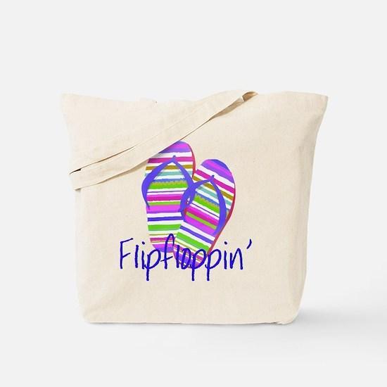 Flip floppin' Tote Bag