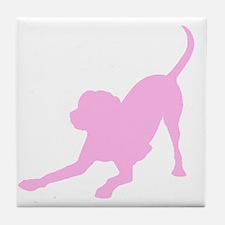 Lab 1C Pink Tile Coaster