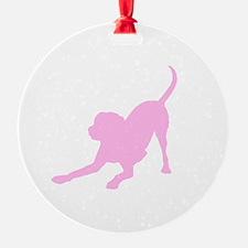 Lab 2 Pink Ornament