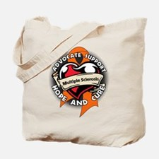 Multiple Sclerosis Tattoo Tote Bag