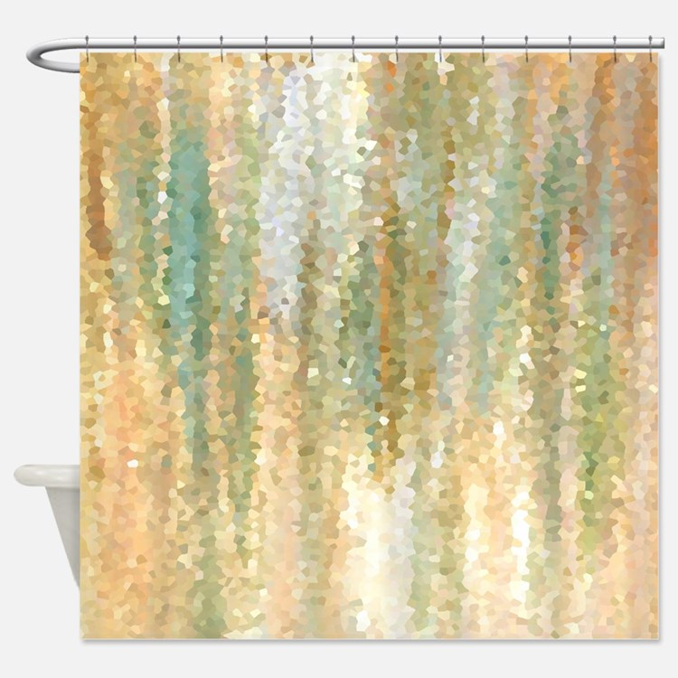 Orange Shower Curtains