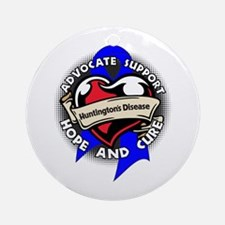 Huntington Disease Tattoo Round Ornament