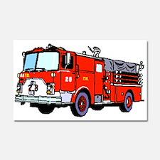 Fire Truck Car Magnet 20 x 12