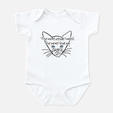 My Siamese Cat Infant Bodysuit