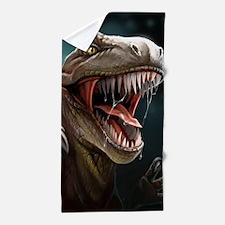 Velociraptor Beach Towel