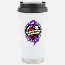 Crohns Disease Tattoo Travel Mug