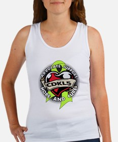 CDKL5 Tattoo Women's Tank Top